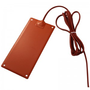 硅胶加热器GJJRQ硅胶加热板硅橡胶加热带温控型电加热片
